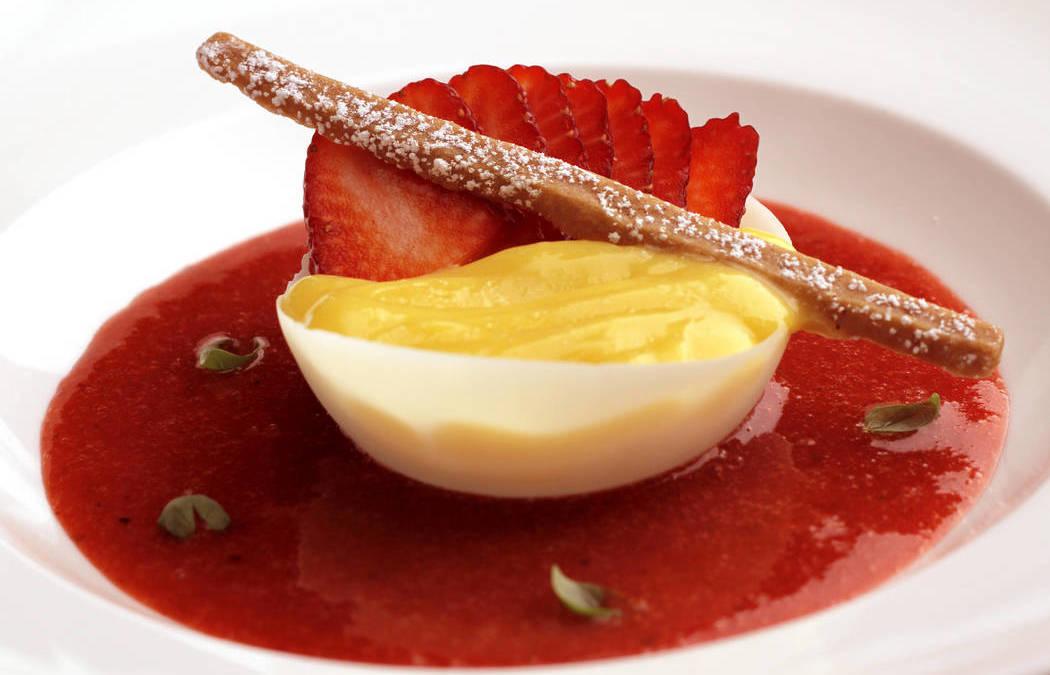 Las Vegas chefs using strawberries in offbeat ways