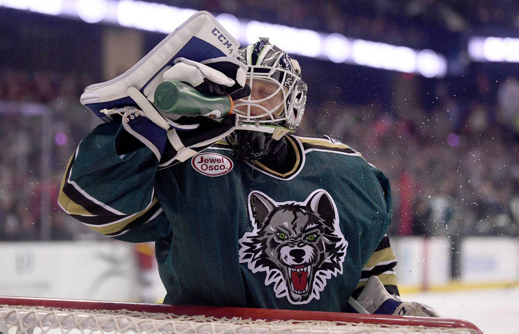 Golden Knights' AHL affiliate to be Chicago Wolves