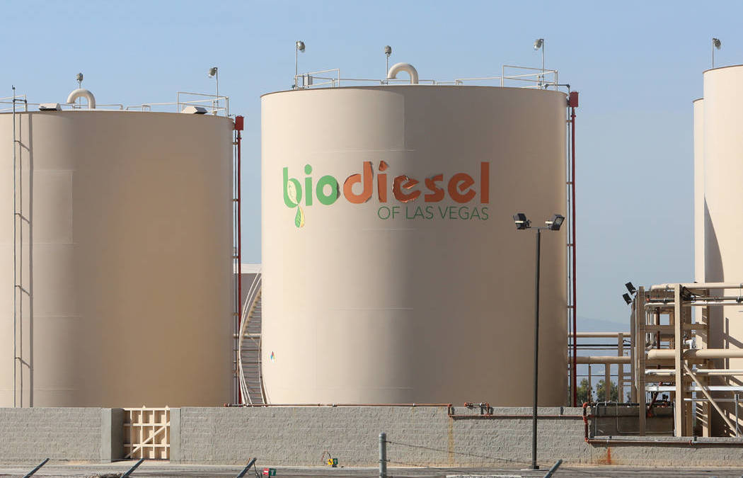 Renewable-diesel manufacturing company plans Las Vegas operations