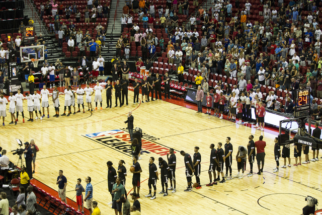 Record 24 teams coming to Vegas for NBA Summer League this year