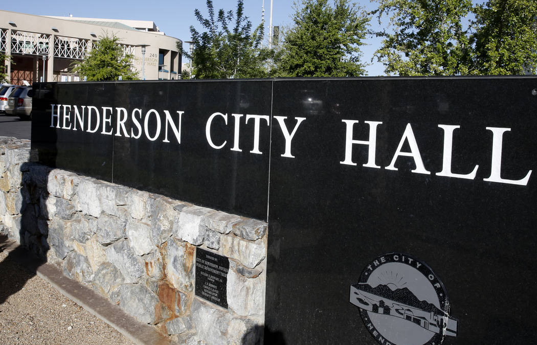 Henderson police foundation board members benefit from city contracts