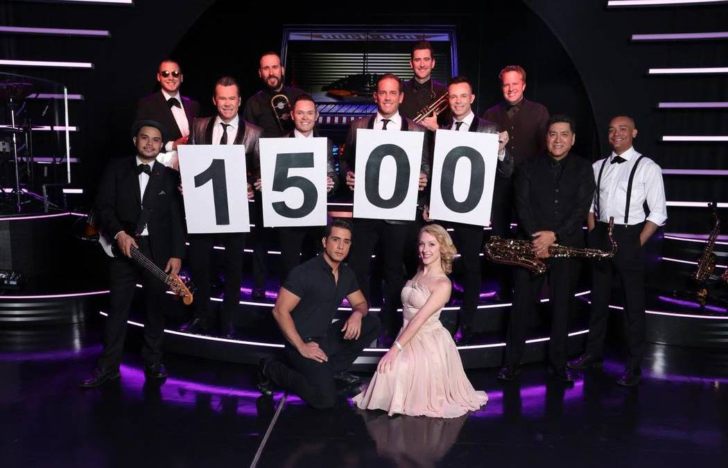 Human Nature celebrates 1,500 shows, 8 years on the Strip