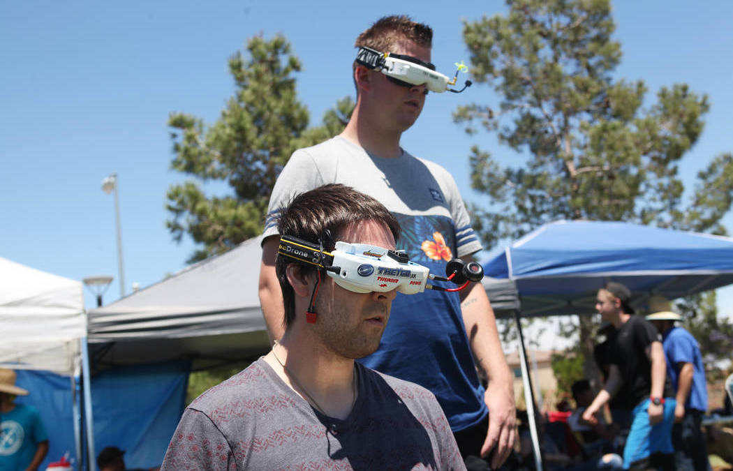 Las Vegas Drone Club conducts races, plans to expand role