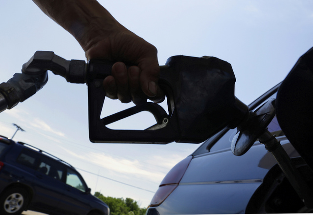 Gasoline prices are on the rise in Nevada