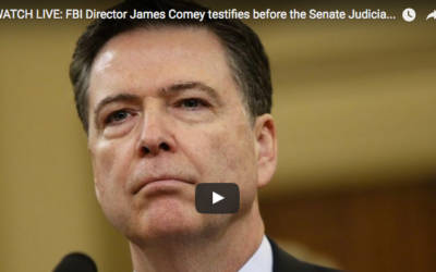 FBI Director James Comey testifies before the Senate Judiciary Committee