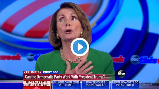 CONFUSION: Pelosi again thinks Bush is still president