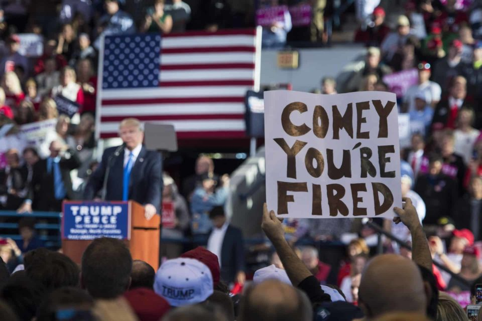 The Simple Explanation for Trump Firing James Comey When He Did