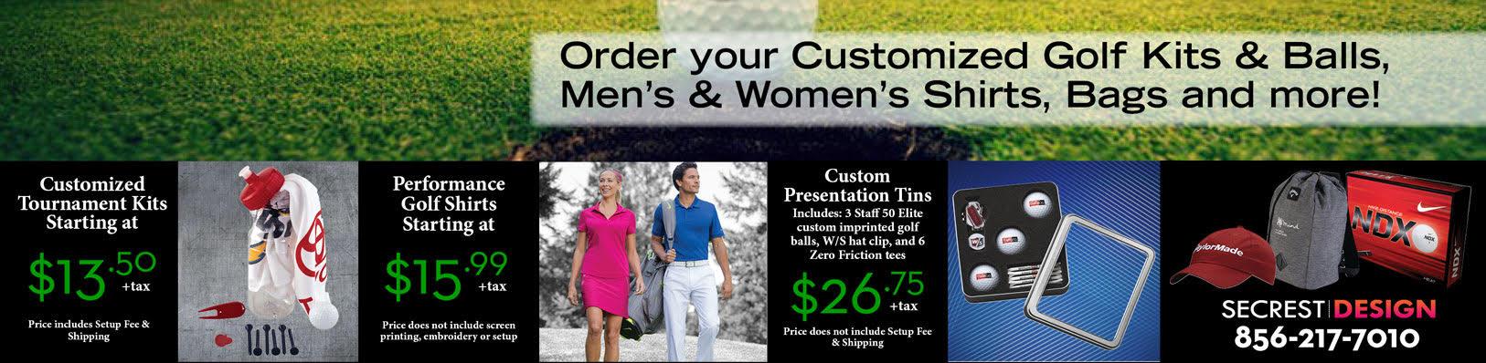 Custom Golf Kits