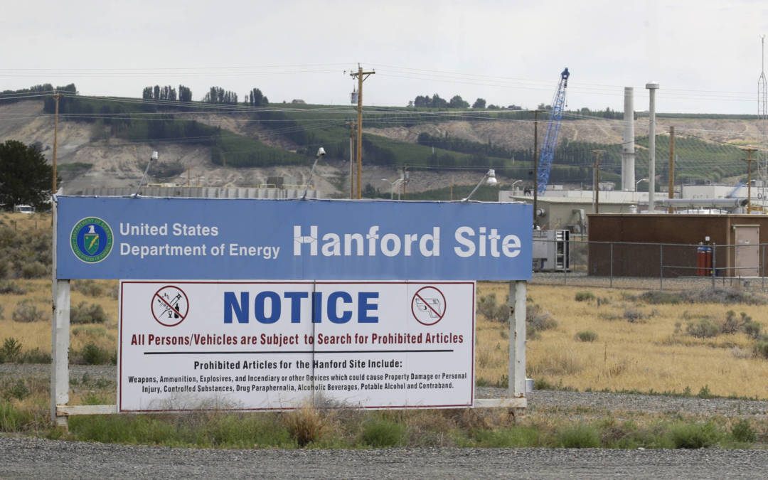 Workers at Washington nuclear waste plant take cover after tunnel damage