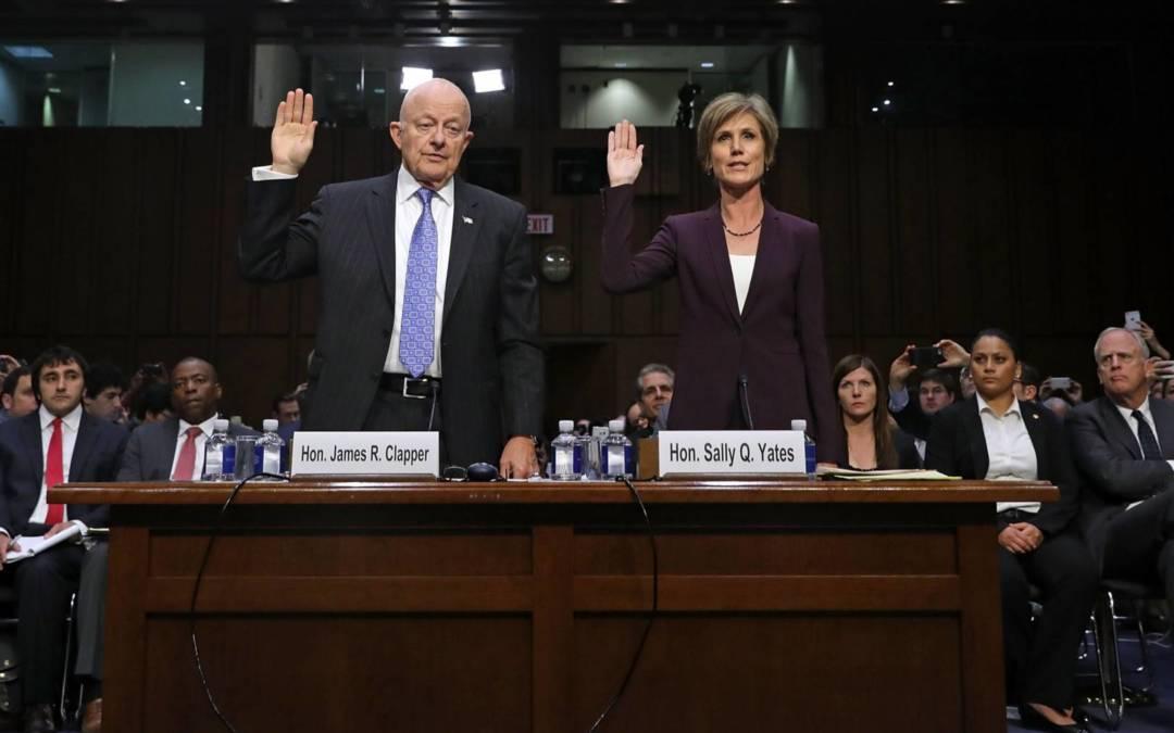 Political Hacks, Yates & Clapper, Should Be Investigated