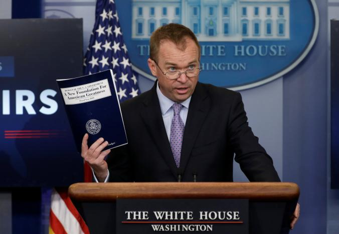 Trump seeks to slash $3.6 trillion of spending