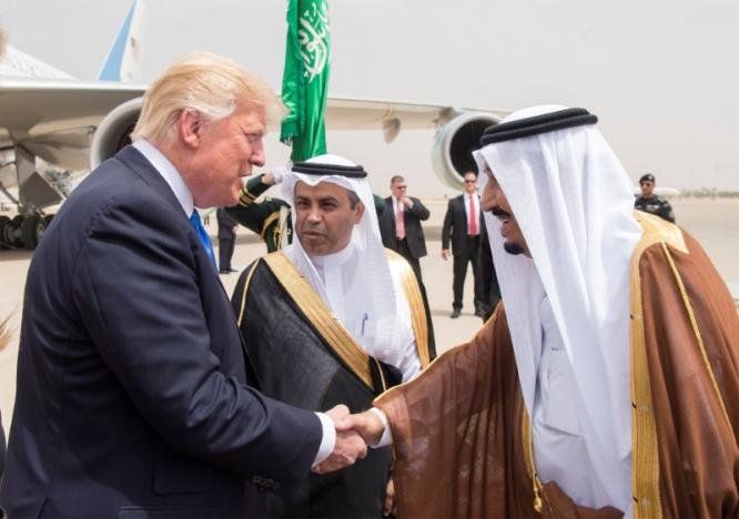 Trump in Saudi on first foreign trip