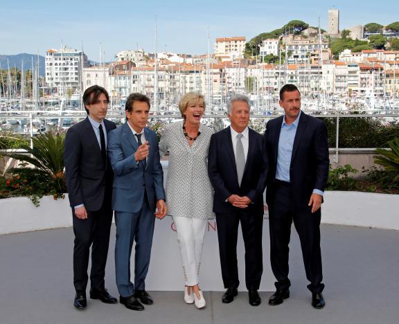 Meet the Meyerowitzs: Hoffman, Stiller and Sandler seek highbrow laughs