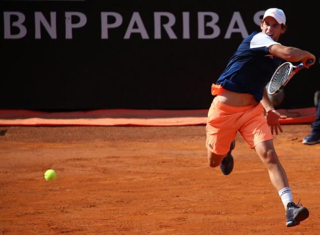 Thiem ends Nadal's unbeaten run on clay