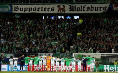 VW's soccer sponsorship in limbo as Wolfsburg face relegation