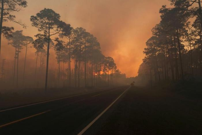 Fire in Okefenokee wildlife refuge forces evacuations in Georgia