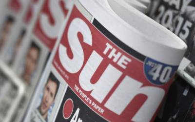 UK's Sun ousts Murdoch protege who likened soccer star to gorilla: FT