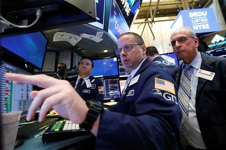 Wall St. little changed ahead of Fed minutes