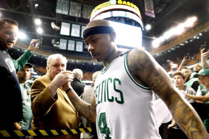 Celtics' Thomas draws inspiration from sister's death