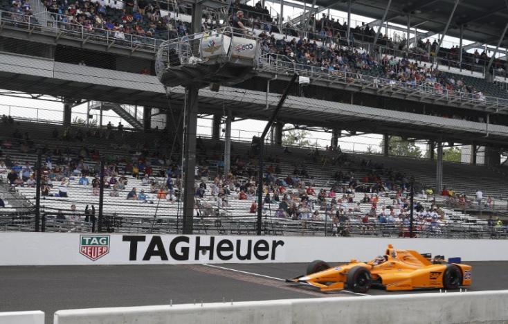 Alonso qualifies seventh-fastest as Carpenter leads