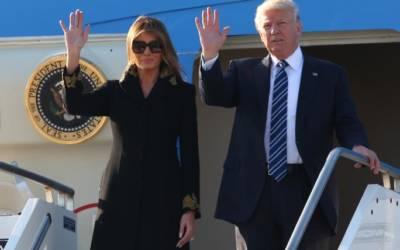 Trump arrives in Italy to meet Pope Francis, Italian leaders