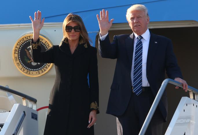 Trump arrives in Italy to meet Pope Francis, Italian leaders