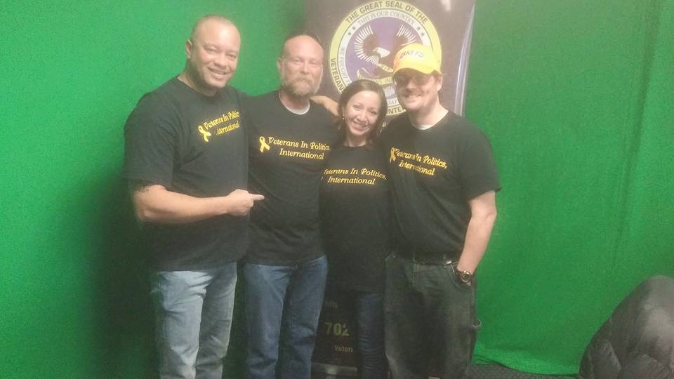 """William Taylor """"B-Taylor"""" & Molly Rosenblum to appear on the Veterans In Politics video talk-show"""