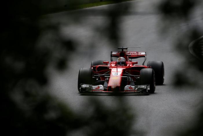 Vettel fastest as Ferrari dominate final practice