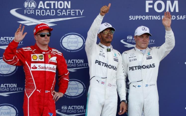Hamilton pips Bottas to take 66th pole in Azerbaijan