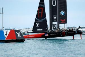 U.S. secure first win of America's Cup, trail New Zealand 4-1