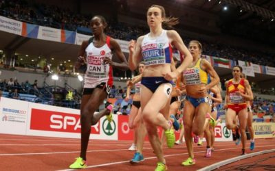 Foot injury dents Muir hopes of doubling up in London