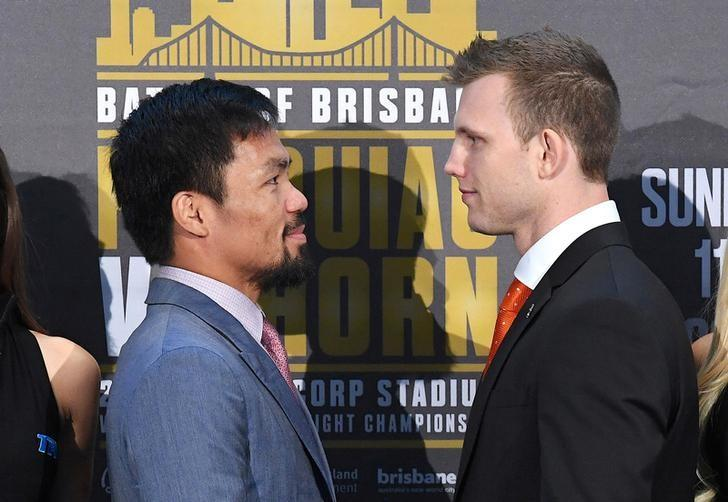Pacquiao looks beyond Horn, has Mayweather rematch in mind