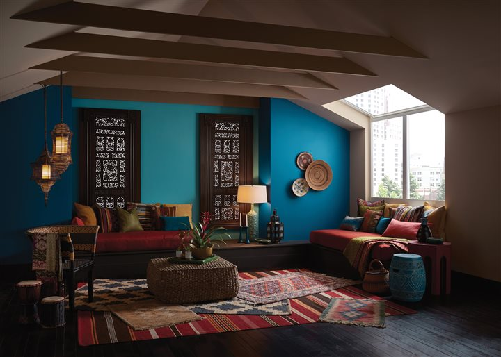 How to use color psychology to influence the mood of your home