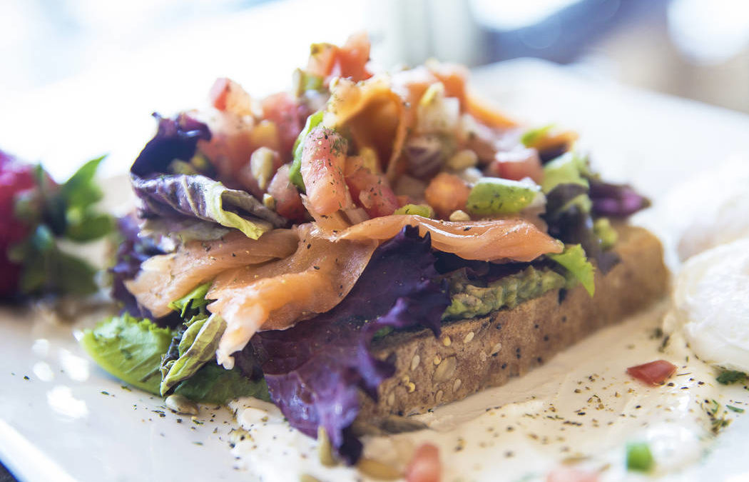 Dirty Fork brings a light and rich spin to avocado toast
