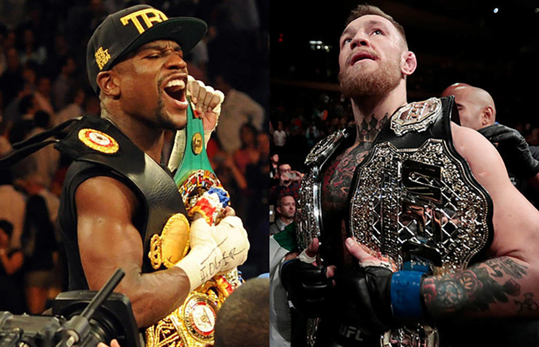 Mayweather reserves MGM Grand on Aug. 26 for possible bout with McGregor