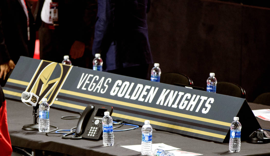 Golden Knights go for size on Day 2 of NHL Draft