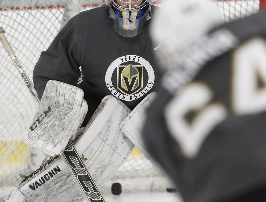 Rookie goaltenders show potential at Vegas Golden Knights camp