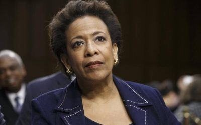 SENATE ANNOUNCES CRIMINAL PROBE OF LORETTA LYNCH