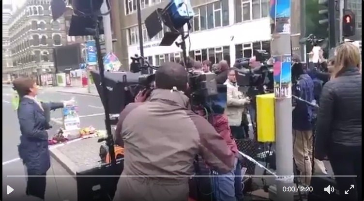 CNN Creates #FakeNews in London Following Terror Attacks, Stages Anti-ISIS Muslim Protesters