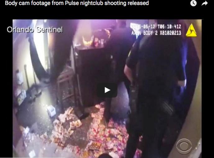 Police videos show chaotic scenes of Florida nightclub massacre