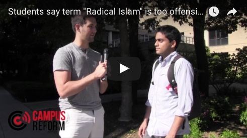 """Students say term """"Radical Islam"""" is too offensive to use"""