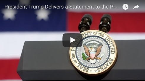 PRESIDENT TRUMP DELIVERS STATEMENT ON GOP SHOOTING