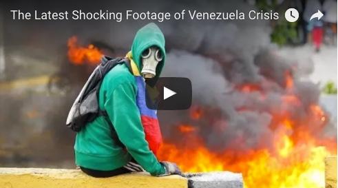 The Latest Shocking Footage of Venezuela Crisis