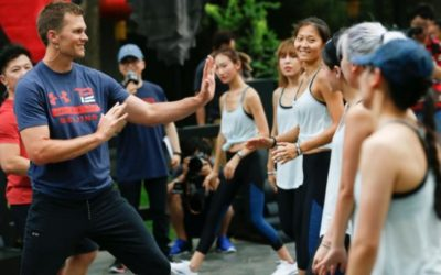 NFL star Tom Brady 'dreams' of playing football game in China