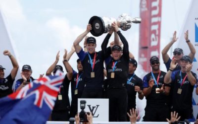 For sale: America's Cup chase boat, one winning Kiwi owner