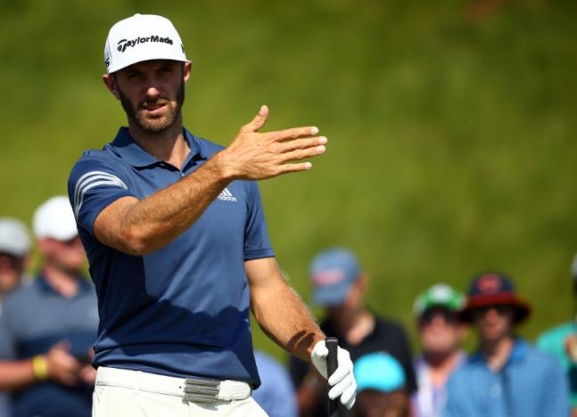 Golf-Johnson arrives for U.S. Open after birth of child