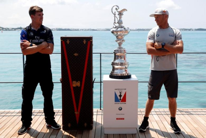 New Zealand try new black magic to end U.S. America's Cup spell