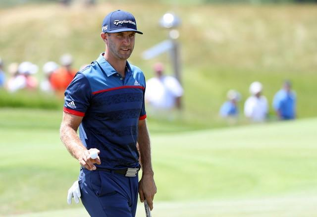 Golf: Defending champion Johnson off-target at U.S. Open