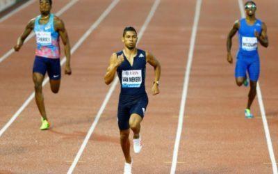 Athletics – South African Van Niekerk wins on international return
