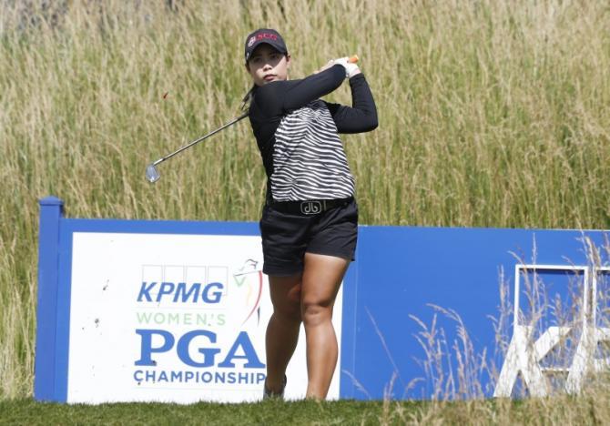 Moriya still seeking to join sister as an LPGA champion